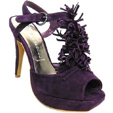 Jeffrey Campbell Kimi Suede Heels, in purple