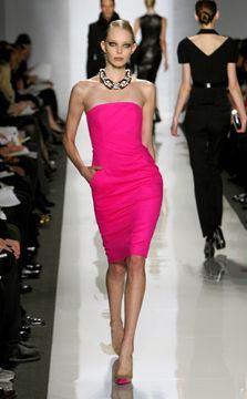 Michael Kors Hot Pink Dress - 2009