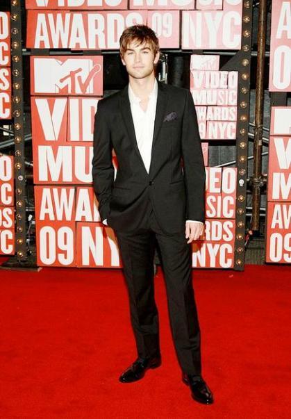 Chace Crawford at the 2009 VMAs