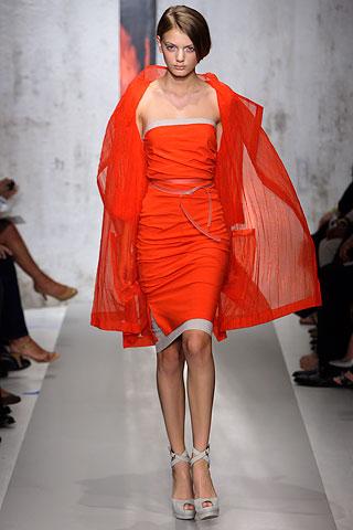 DK_orange and grey dress