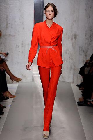 DK_orange pantsuit