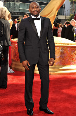 Actor Omar Epps arrives at the 61st Primetime Emmy Awards held a