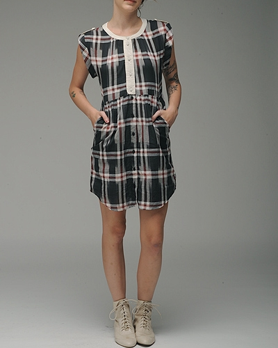 Quicksilver Plaid Dress