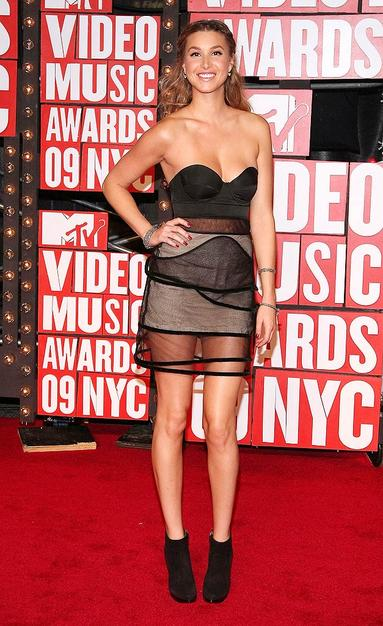 Whitney Port at the 2009 VMAs