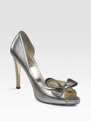 Pewter Valentino Pump