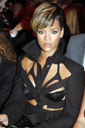 Rihanna at Jean-Paul Gaultier